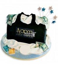 №1149 3D Женский торт сумка