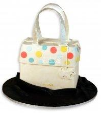 №1152 3D Женский торт сумочка