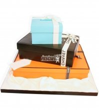 №1157 Женский торт коробки