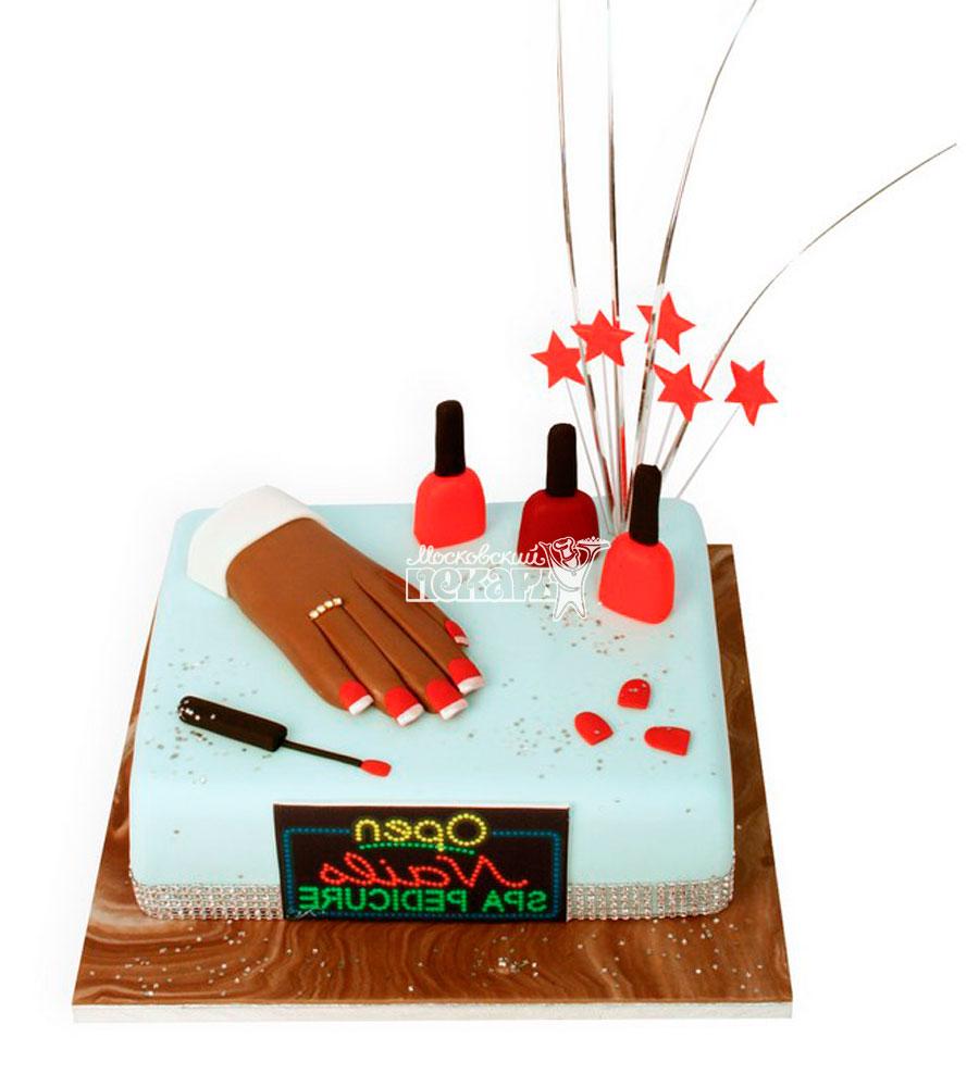 №1161 Женский торт маникюр