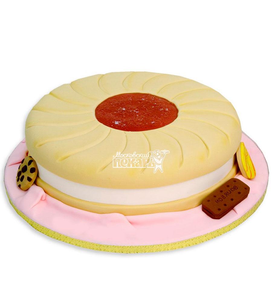 №1163 Женский торт пирожное