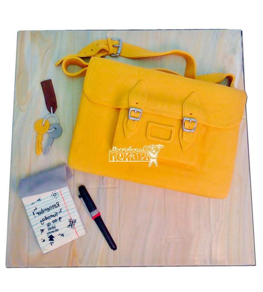 №1174 Женский торт сумочка
