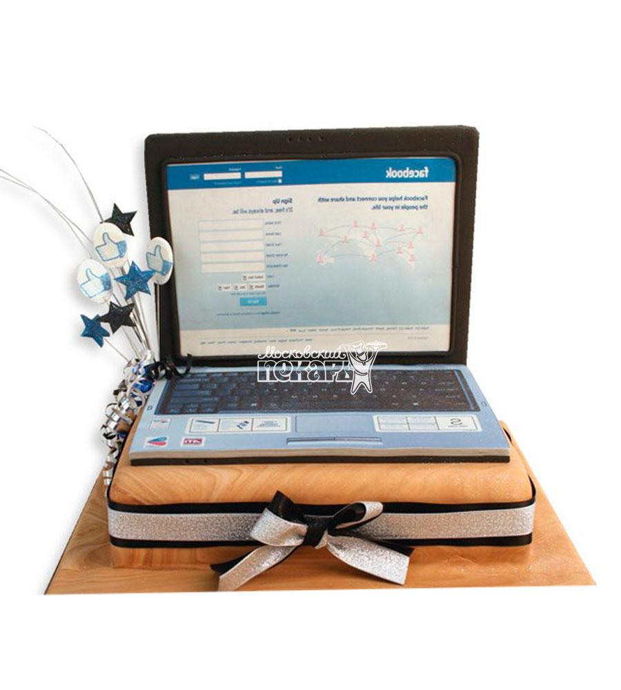 №1178 Торт ноутбук
