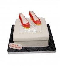 №1187 Женский торт туфли