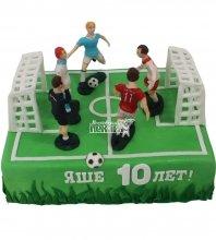 №1204 Торт футбольное поле