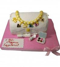 №1205 3D Торт косметичка