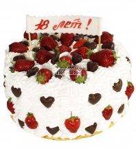 №1215 Торт с ягодами
