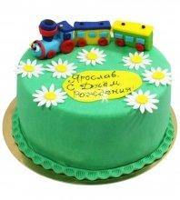 №1216 Детский торт паровозик