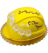 №1219 3D Торт на день рождения каска