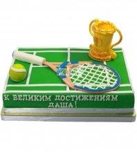 №1225 Торт теннисный корт