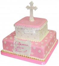 №1229 Детский торт на крещение