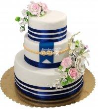 №1290 Свадебный торт морской