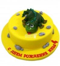 №1308 Детский торт с динозавриком