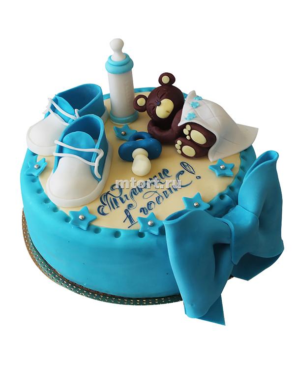 №138 Детский торт на 1 годик