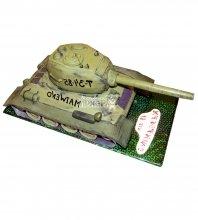 №1354 3D Торт танк