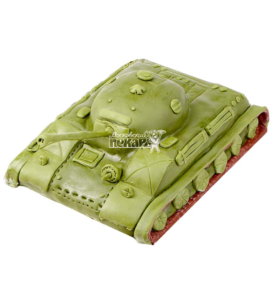№1355 3D Торт танк