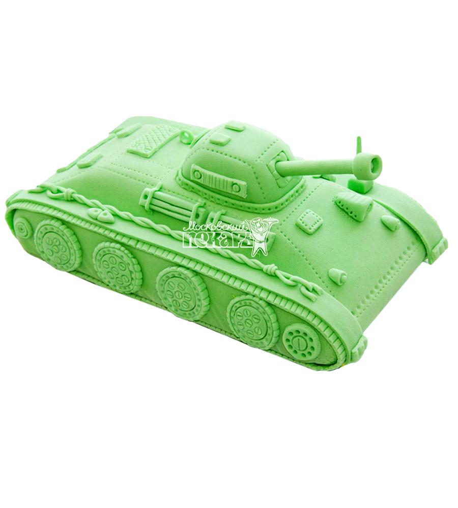 №1356 3D Торт танк