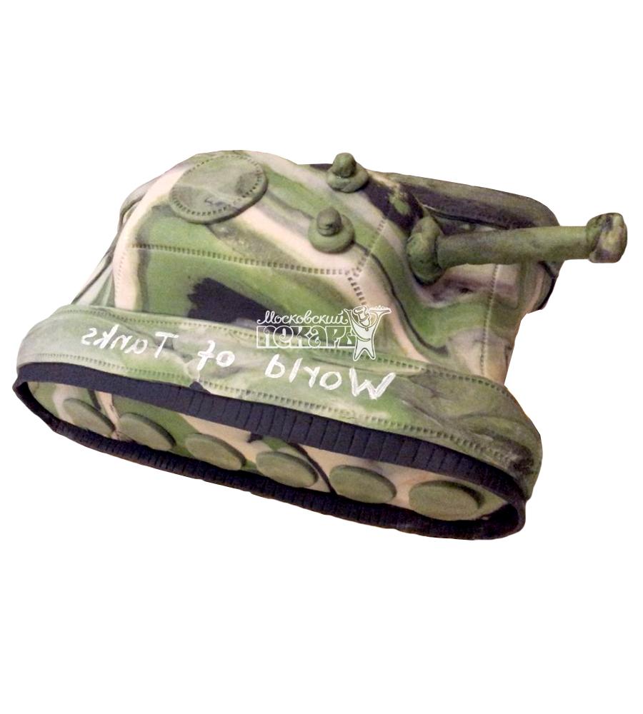 №1357 3D Торт танк