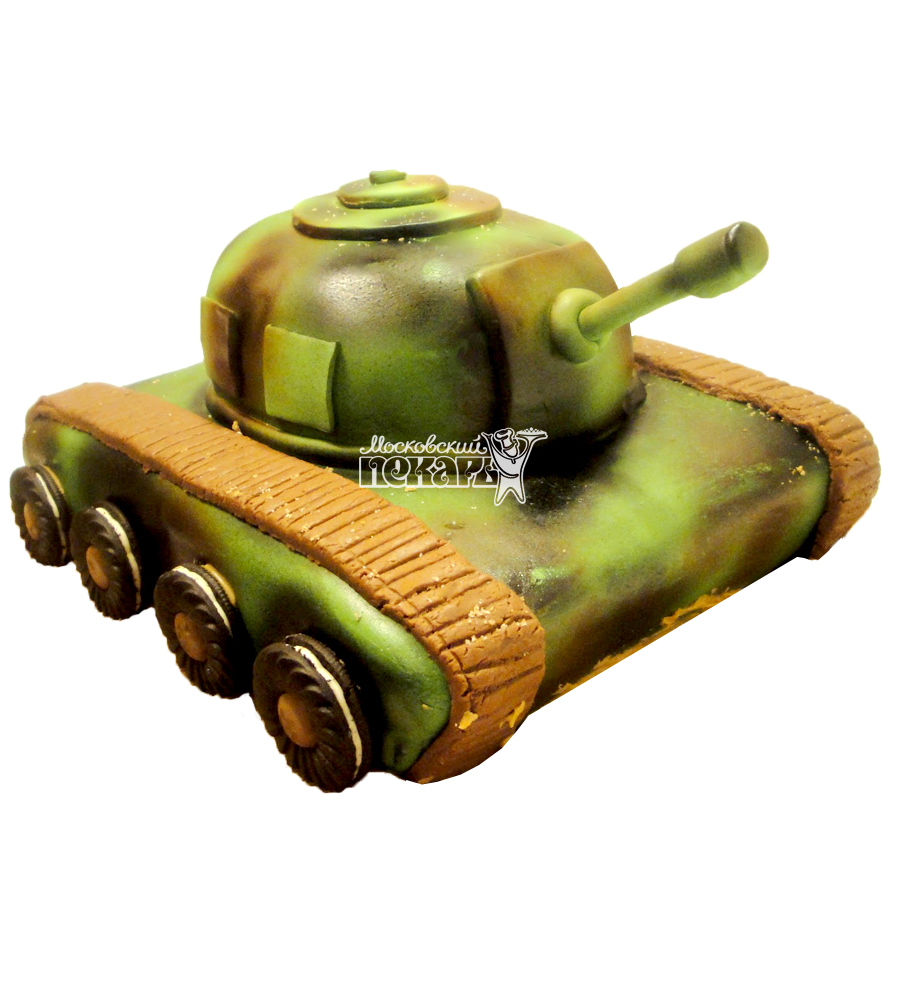 №1359 3D Торт танк