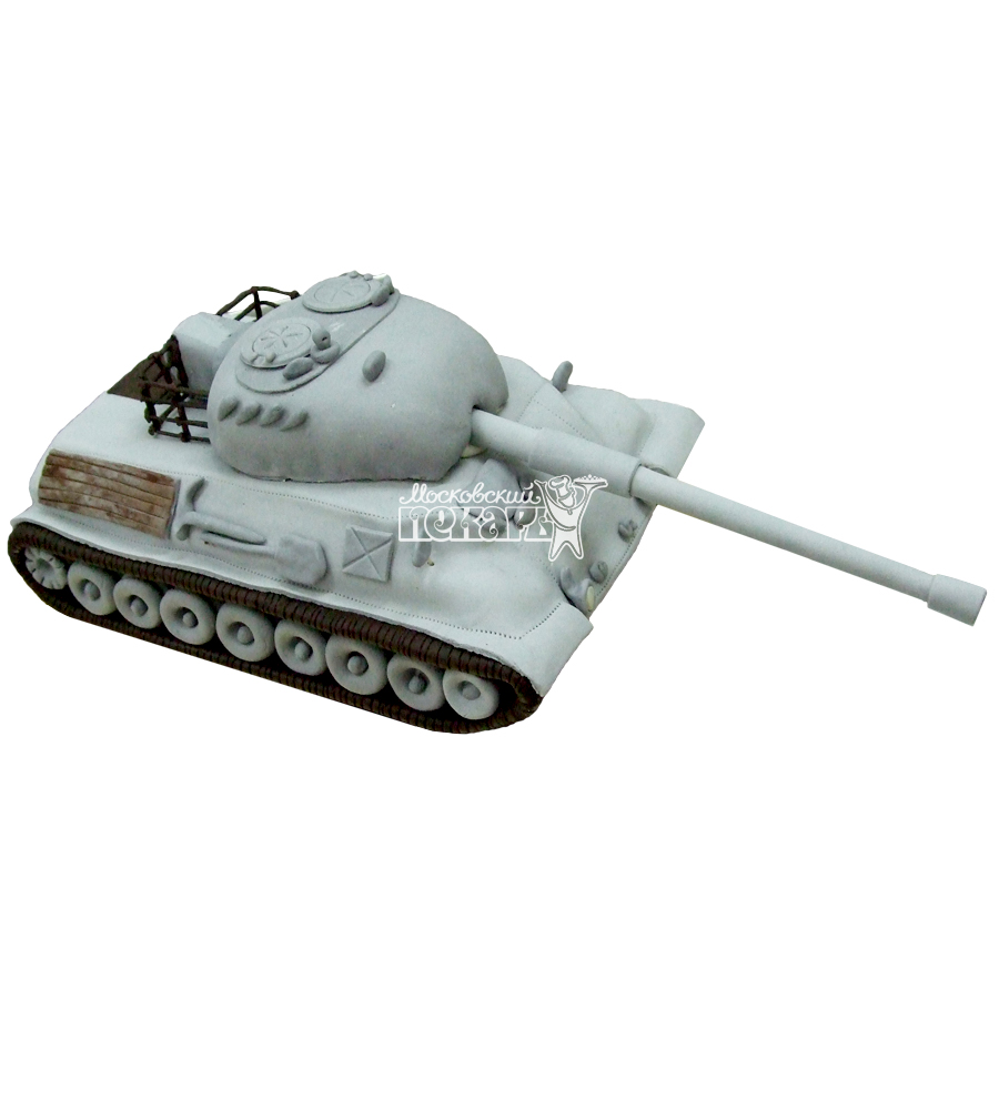 №1362 3D Торт танк