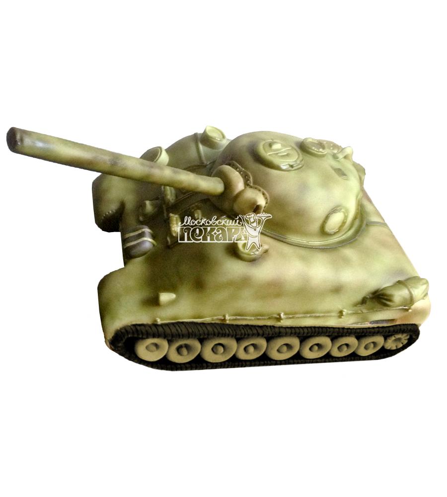 №1361 3D Торт танк