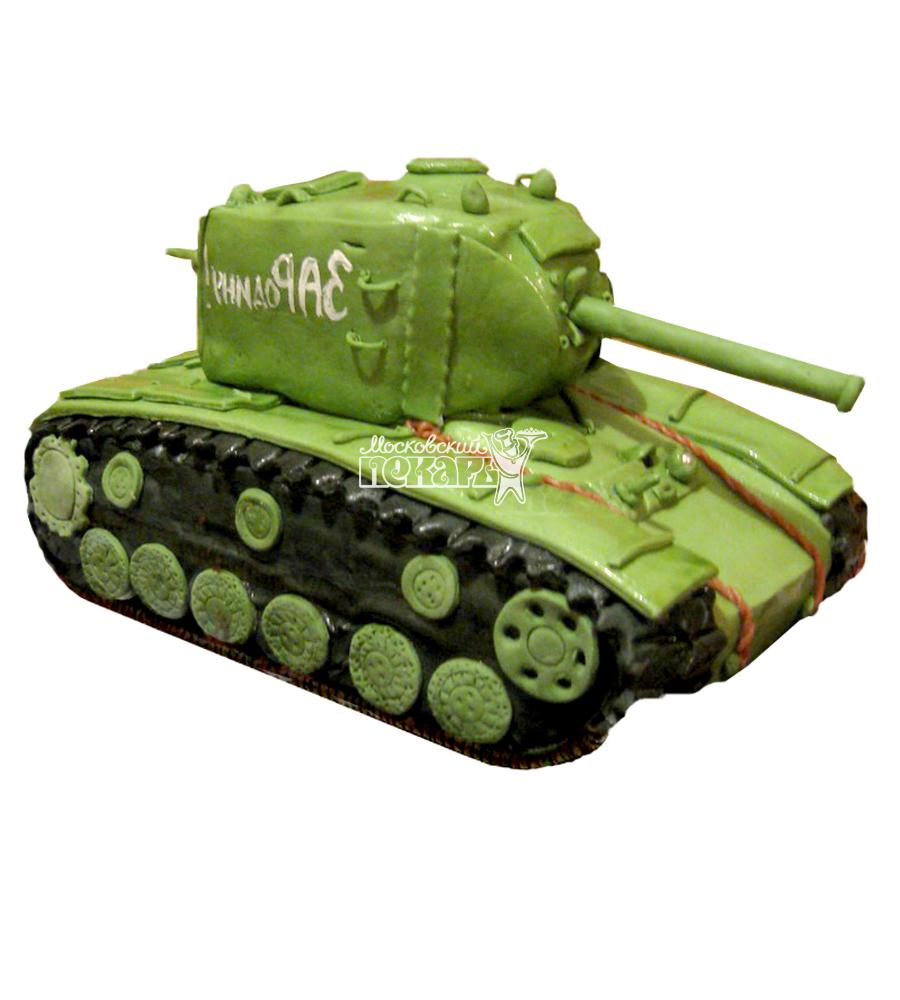 №1364 3D Торт танк