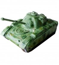 №1370 3D Торт танк