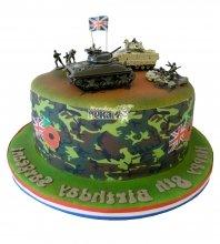 №1375 Торт танки
