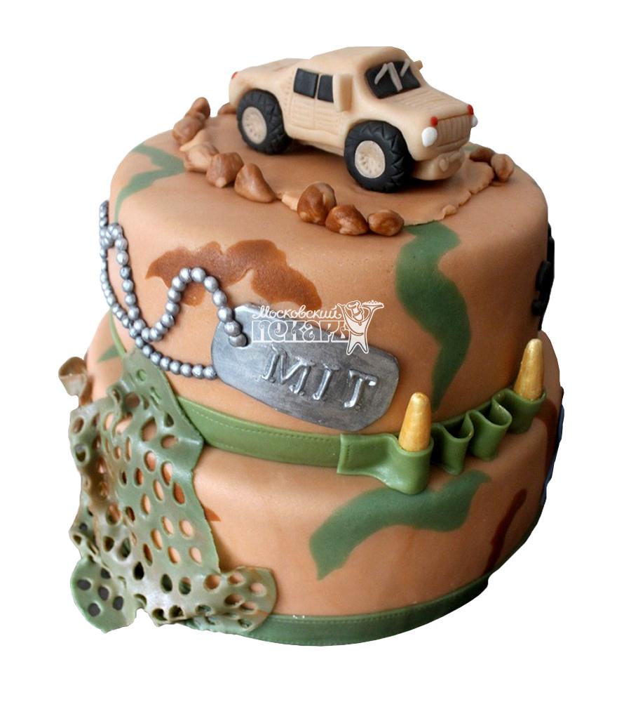 №1377 Торт военному
