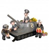 №1379 3D Торт военному