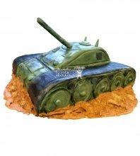 №1391 3D Торт танк