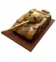 №1395 3D Торт танк
