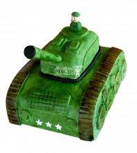 №1397 3D Торт танк