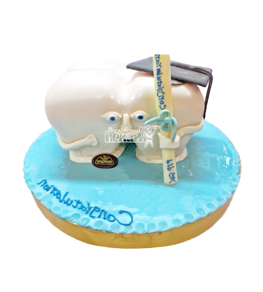 №1434 3D Торт врачу стоматологу