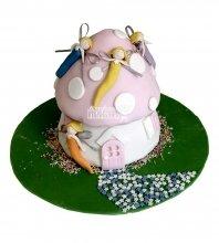 №1442 3D Торт фея