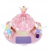 №1444 3D Торт фея