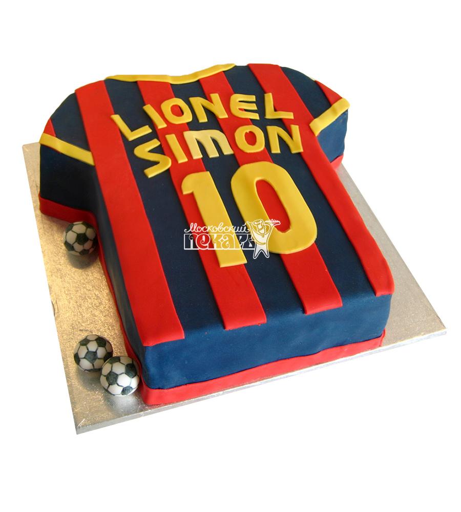 №1461 Торт футбольная форма