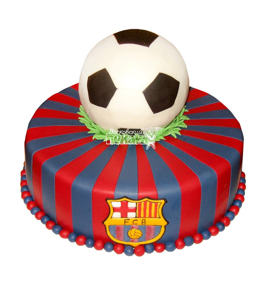 Торты с футбольной командой