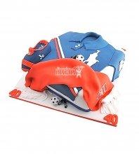 №1467 Торт футбольная форма