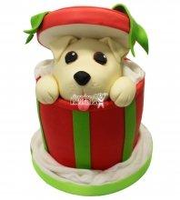 №1479 3D Торт с собачкой