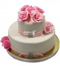 №1482 Небольшой свадебный торт