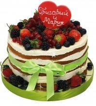 №1486 Торт с ягодами