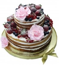 №1488 Торт с ягодами