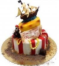 №1492 Детский торт с пиратом