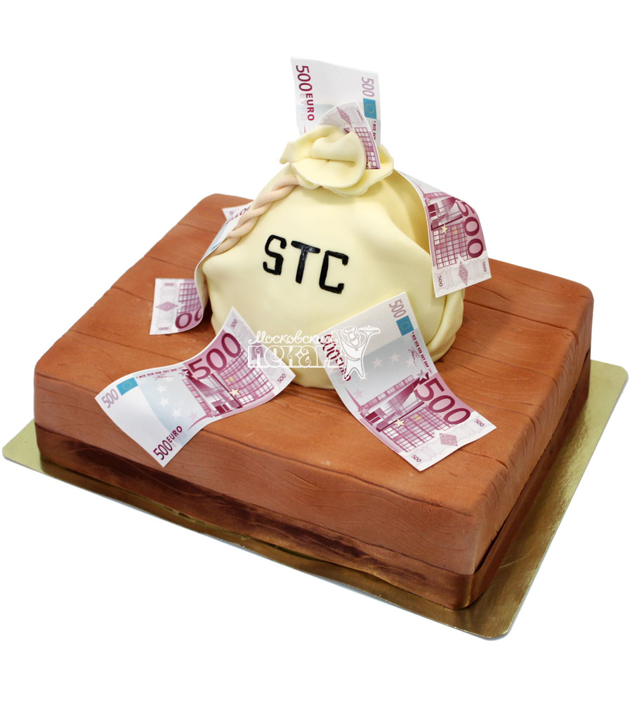 №1501 Торт мешок с деньгами