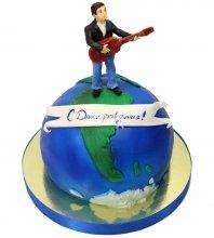 №1505 3D Торт музыканту