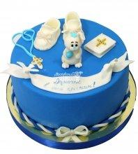 №1506 Детский торт на крещение