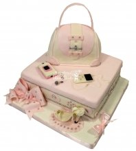 №1521 Женский торт сумочка