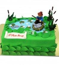 №1528 Торт рыбаку