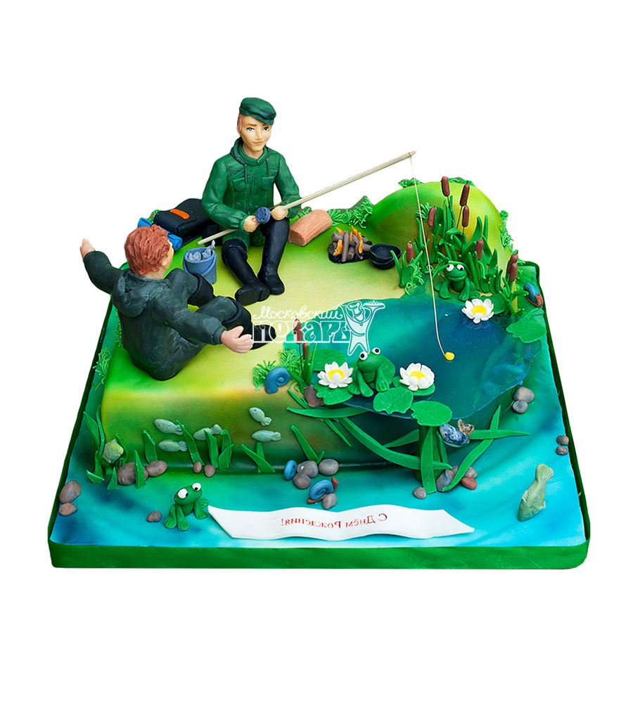 №1531 Торт рыбаку